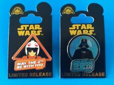 Disney Star Wars 2016 May the 4th & Revenge of the 5th Exclusive Pin Set Limited