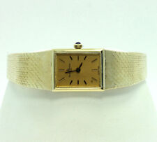 Baume & Mercier Geneve watch 14K yellow gold mesh bracelet 14.8 x 18.3MM 26.2GM