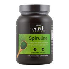 GNC Earth Genius Spirulina 100 Capsules