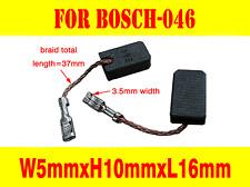 Carbon Brushes For Bosch 046 Grinder GWS 7-115 8-125 11-125 14-125 15-12 PKS 54