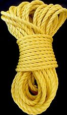 Rope Lg 5/8� Diameter X 100Ft Industrial Poly 4500Lb Strength Usa Made Save $