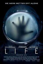 Life - original DS movie poster - 27x40 D/S Ryan Reynolds, Jyllenhaal - FINAL