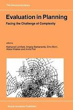 GeoJournal Library: Evaluation in Planning : Facing the Challenge of...