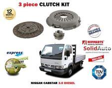 Per NISSAN CABSTAR 3.0 DIESEL 110 120 TL0 BD30TI BD30T 2000 - > 3 Pezzi Kit Frizione