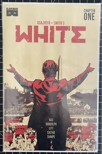 WHITE #1 2nd Print Black Mask Comics SOLD OUT 2021 Optioned KEY Kareem Jenkins