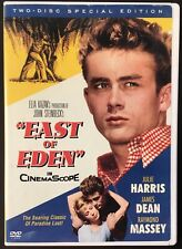 East of Eden in Cinemascope (2005, DVD x2) James Dean Julie Harris Steinbeck EX+