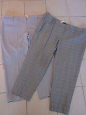 TALBOTS Grey Herringbone Dress Pants LOT OF 2 $228 Hampshire Size 24W NWT