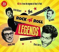ROCK'N'ROLL LEGENDS 2 CD NEU LITTLE RICHARD/CHUCK BERRY/BUDDY HOLLY/+