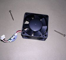 "AVC Sleeve Bearing 2.3"" Square Cooling Fan C6025S24H w/Screws/Wire DC 24V--0.16A"