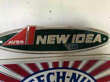 Avco  New Idea machinery badge