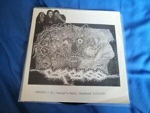 Carcass–Live At St. George's Hall, Bradford, UK 1989 rare 7inch