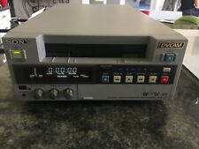 SONY DSR-20 MINI DV VIDEO TAPE RECORDER TRANSFER OLD TAPES !  WORKING CONDITION