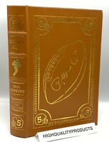 SIGNED 1st EDITION Easton Press GOLDEN BOY Paul Hornung BASEBALL Vince Lombardi