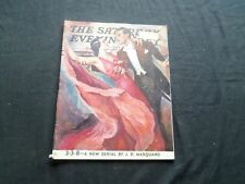 1937 APRIL 10 THE SATURDAY EVENING POST MAGAZINE - ILLUSTRATED COVER - SP 1688