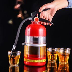 2L Wine Drink Dispenser Fire Extinguisher Beer Water Barrels Beverage Liquor Bar