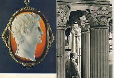 2 Karten aus dem Römisch-Germanischen Museum Köln, 1970er Jahre, TOP Zustand
