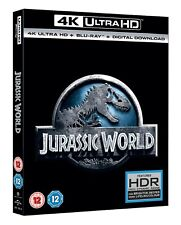 Jurassic World (4K Ultra HD + Blu-ray + Digital Download) [UHD]