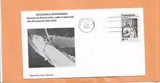 SPACEWALK PERFORMED CONRAD - KERWIN JUN 7,1973   HOUSTON SPACE CITY COVER