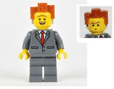 NEW LEGO MOVIE President Business - Smiling from 70818 w/ accessory