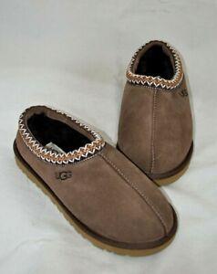 UGG 'Tasman' Men's Brown Suede Slippers Size 8