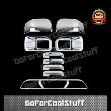 2015-2016 FORD F150 Combo Fog Lamp+Mirror+4 Handle+Top Break Light Chrome Cover