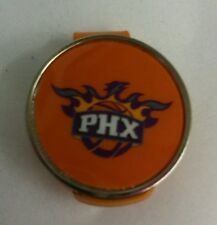 "Phoenix Suns NBA 1"" Golf Ball Marker 2 sided with Orange Hat Clip"