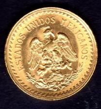 "1945 Mexican Dos Y Medio ""2 1/2"" Pesos Gold Coin"