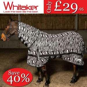 JOHN WHITAKER ZEBRA FLY MESH RUG COMBO PONY HORSE RRP £49.95