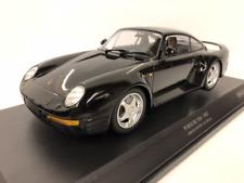 Minichamps 155066207 Porsche 959 1987 Noir 1:18 Echelle Nouveau Emballé