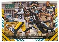 2016 Panini Score Football No Fly Zone Gold Parallel #8 Davon House Jaguars