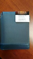 Cross Journal with Pen, Small 6x5 Nylon Gray with Gray Lined acid free paper