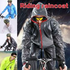 Unisex Sports Raincoat Cycling Bike Bicycle Waterproof Windproof Rain Coat Sets