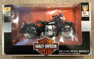 Harley Davidson ~2000 Maisto 1948 FL Panhead ~ 1:18 series 8 ~ metal die cast