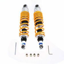 """12.5"""" 320mm Motorcycle Scooter ATV Rear Shock Absorbers For Yamaha Honda Yellow"""