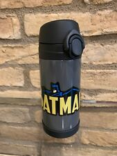 New Pottery Barn Kids Batman gray insulated Medium 12 Oz water bottle