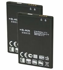 2X New 1500mAh Replacement Batteries BL-44JN for LG Optimus Slider VM701, L35G