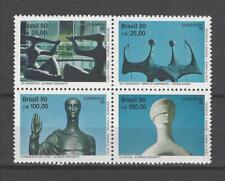 Brazil 1990 Sc#2285a  LUBRAPEX '90  MNH Block  $6.00