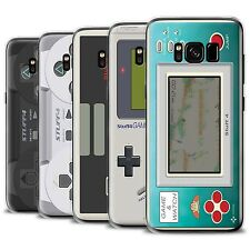 STUFF4 Gel/TPU Phone Case for Samsung Galaxy S8/G950 /Games Console