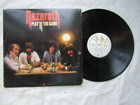 NAZARETH lp PLAY N THE GAME canada issue a&m sp 4957 EX+