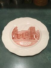 Kabletown, West Virginia Methodist Church Plate Adams Antiques by Steubenville