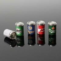 5x Kinds Beer Cans Drinking Bar Beer 1:12 Dollhouse Miniature Toy Gift. Kid S3P7