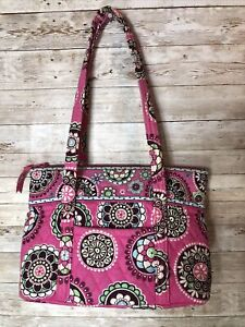 Vera Bradly Cupcake Pink Quilted Hand Bag