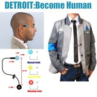 Detroit: Become Human Connor RK800 Coat Costume Cosplay Mens Jacket Kara Suit