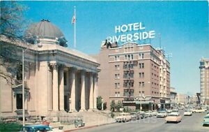 Reno, Nevada, Washoe County Courthouse, Hotel Riverside, Colourpicture P25516