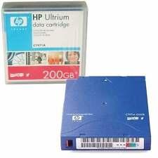 NEW HP LTO-1 Ultrium 200 GB cartridge C7971A LTO1 LTO 1 Cartouche de données