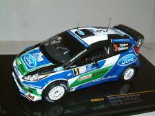 1/43 IXO FORD FIESTA RS WRC 2012 ARGENTINA RALLY ,DANI SORDO ,#3. #RAM516
