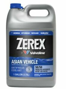 Zerex Asian Vehicle Antifreeze-Coolant for Honda  & Acura  50/50 Pre-Diluted