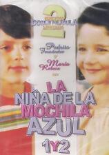 DVD - La Nina De La Mochila Azul 1 Y 2 NEW Maria Rebeca FAST SHIPPING !
