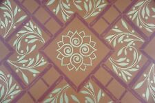 Cole & Son Wallpaper Vintage Glamour Collection PALM COURT Terracotta Red Gold