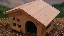 Betten, Hängematten & Nester aus Holz für Meerschweinchen